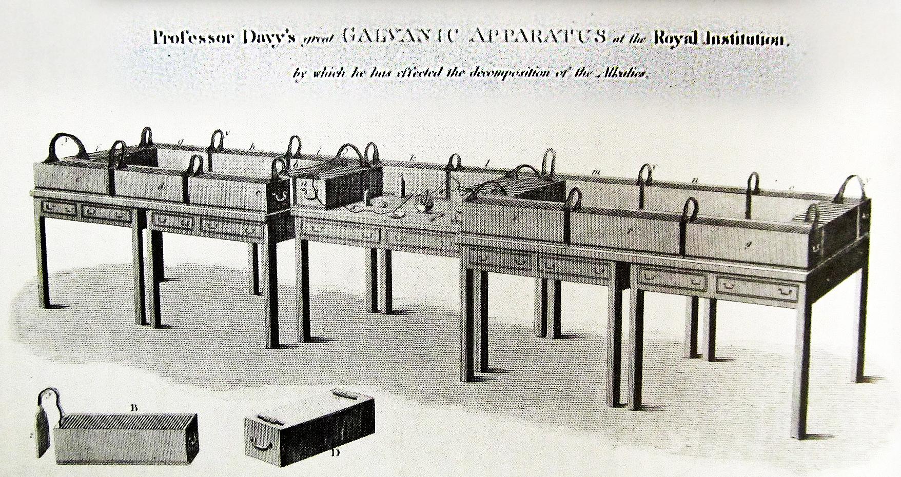 Sir H  Davy potassium-electrolysis-Potassium sodium