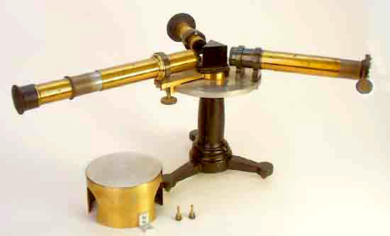 A Prism Spectroscope Of The Type Thomas Edison Used In The